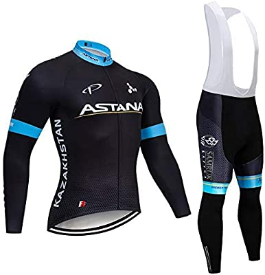 SUHINFE Ciclismo Maillot Hombres Jersey + Pantalones Culote ...