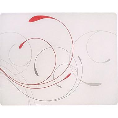 Corelle 15 x 12  Counter Saver Tempered Glass Cutting Board, Splendor