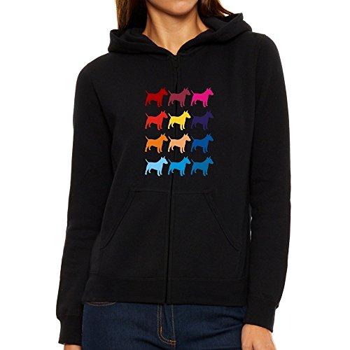 donna cappuccio Eddany Terrier con da Felpa Colorful Bull wqXBr0qp