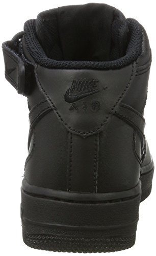 Black Force Le Wmns '07 Donna Nike 1 Mid Nero 001 Air Scarpe Black Sportive EAxqw7qY