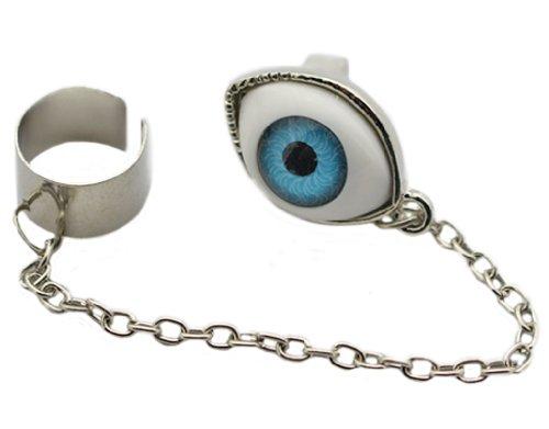 BONAMART® TM Fashion One Piece Vintage Style Antique Retro Tassels Eyeball Goth Punk Clip Earrings