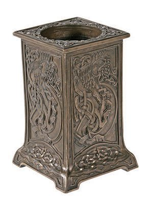 Gorgeous Gifts Lion Mountain (Votive/Candle Holder Large Celtic Lion Collectible)