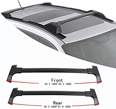 Direct Aftermarket Replacement for Part # 19244264 VZ4X4 Roof Rack Side Rail C Channel for 2009-2017 Chevy Chevrolet Traverse