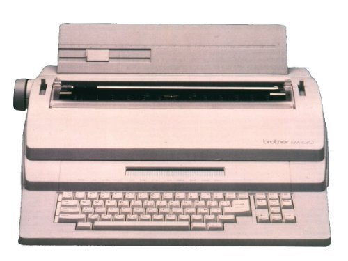 Brother EM-630 Electronic Typewriter with Disk Drive by Brother