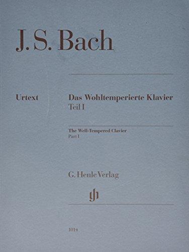 Well-Tempered Clavier Bwv 846-869 Part I (No Fingering) Das Wohltemperierte Klavier