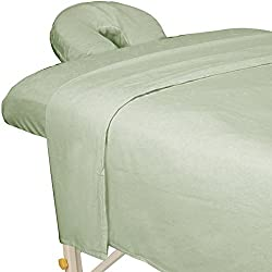 For Pro Premium Flannel Sheet 3 Piece Set, Sage