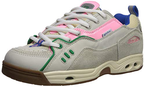 Globe Men's CT-IV Classic Skate Shoe, Silver Birch/Pink/Gum, 8.5 Medium US ()
