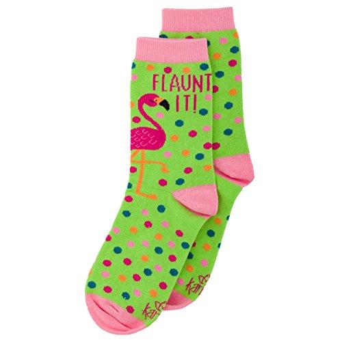 Karma Gifts Socks, Flamingo (Stephen Joseph Flamingo)