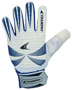Champro Soccer Goalie Gloves (Blue/White, 4/3-mm)