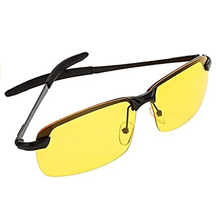 9c01e077973b Image Unavailable. Image not available for. Color  TTM Mens Womens Driving  Polarized HD Sight Night Vision Sports Sunglasses Driving Glasses with  Yellow ...
