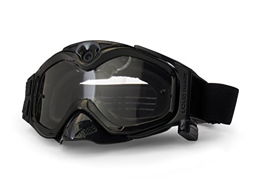 Liquid Image XSC - Xtreme Sport Cams 384 All-Sport S/BLK HD Camera Goggles with Video Camera and LCD Screen (Solid Black) by Liquid Image
