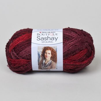 Cabernet Case - YARN RH BOUTIQUE SASHAY 3.5 OZ 20 YDS CABERNET, Case Pack of 24