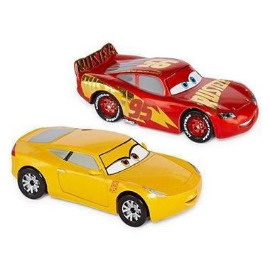 [Cars 3 Diecast Car Set Cruz and Lightning Mcqueen 1.43 Size] (43 Scale Diecast Car)
