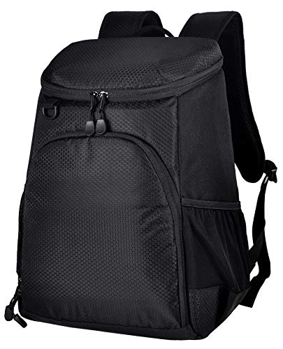 MIER Leakproof Cooler Backpack Insulated Soft Lunch Cooler for Men Women, Best for Picnic, Hiking,...