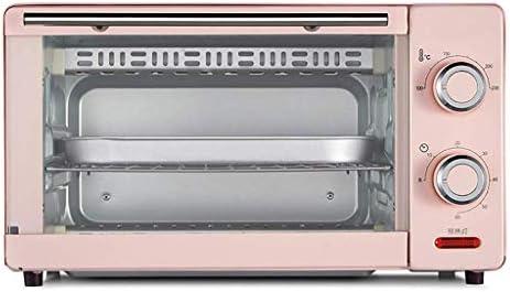 HIZLJJ Encimera de Acero Inoxidable eléctrico multifunción Horno de convección Digital compacta Cocina Asador Tostadora w/Molde de Horno, Parrilla Estante de Bandeja, la Puerta de Cristal: Amazon.es