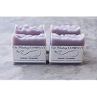 FOUR French Lavender Bar Soap || purple soap / natural bar soap / handmade bar soap / relaxing / calming / lavender soap / lavender lover