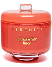Luxury Glass Jar Scented Candle with Natural Soy Wax 230g/8oz - Varied Scents for Stress Relief and Relaxation - Clean Burning, Home Decor Aromatherapy Candles - Gifts for Many Occasions