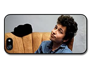 Bob Dylan Sitting On Sofa Blue Jacket Singer case for iphone 6 4.7