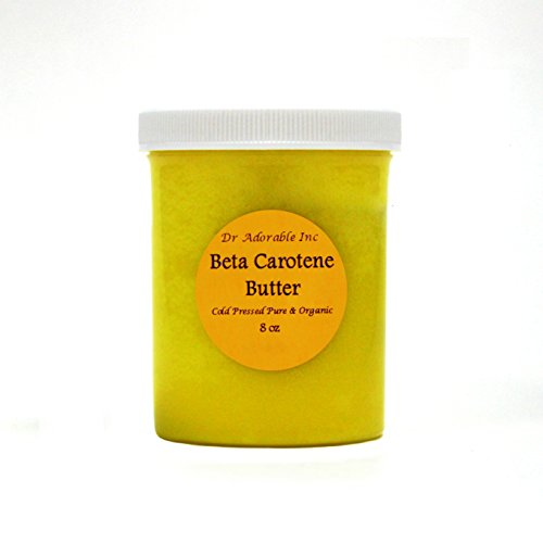 Beta Carotene Butter Cold Pressed Pure & Organic 8 Oz