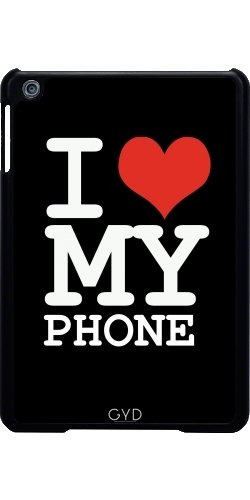 Funda para Apple Ipad Mini - Amo A Mi Teléfono by wamdesign