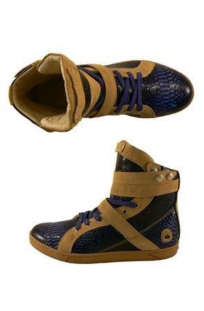 Heyday Premium Super Shift Sapphire Python Shoe Shoe Size: 13
