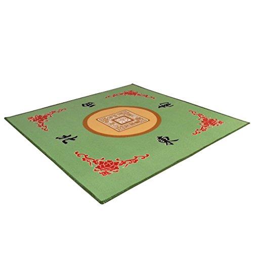 Table Cover Green Mahjong Games