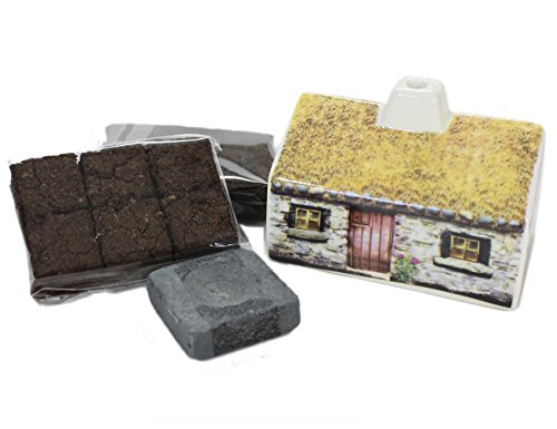 Scottish Peat Incense & Croft Burner Set