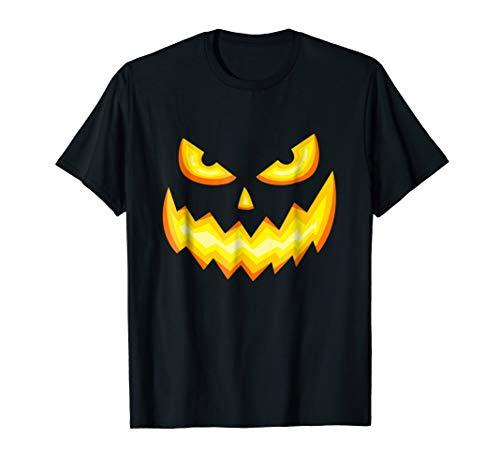 Jackolantern Pumpkin Face Scary Halloween Costume -