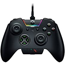 Razer Wolverine Ultimate: 6 Remappable Multi-Function Buttons and Triggers - Intrchangeable Thumbsticker and D-Pad - Razer Chroma Lighting - Gaming Controller works with Xbox One and PC