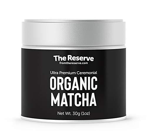 Ultra Premium Organic Ceremonial Matcha, USDA Certified, THE RESERVE (Ultra Greens Powder)
