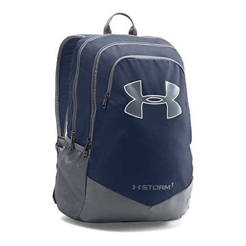 Under Armour Boys' Storm Scrimmage Backpack, Midnight Navy/Graphite, One Size