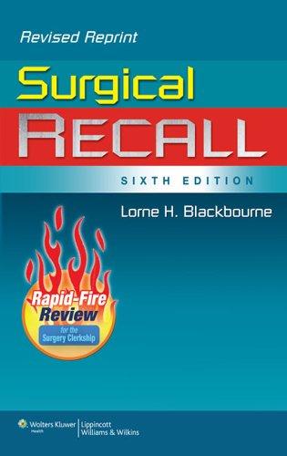 Surgical Recall (Recall Series) Pdf