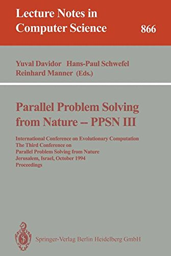 Parallel Problem Solving from Nature - PPSN III: International Conference on Evolutionary Computation. The Third Confere