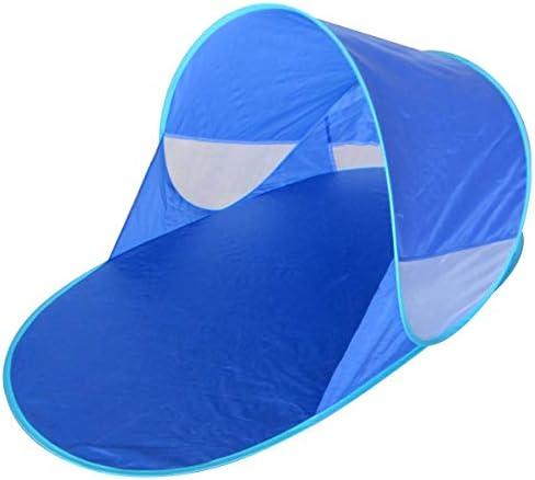 Strandmuschel Strand Sonnen Zelt Baby UND Kinder, 100% OPTIMALER UV Schutz UPF 50+ mit Mückennetz, Pop Up Wurf strandzelt, Beach, babyzelt, Camping