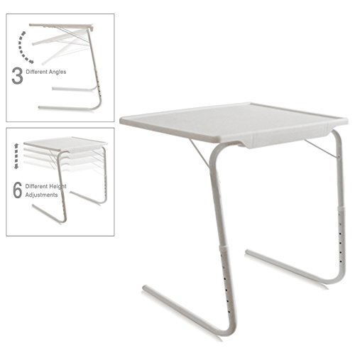 Amazon.com: 5starsuperdeal Portable And Foldable Tray Table (Black):  Kitchen U0026 Dining