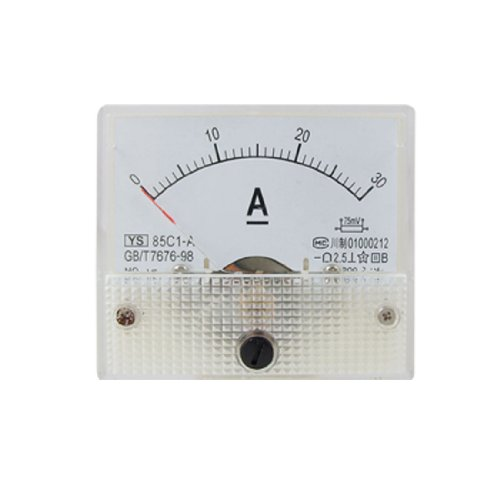 uxcell Analog Current Ammeter Ampere