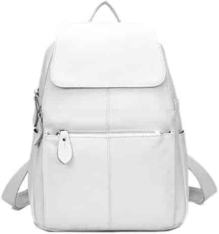 Color : Sky Blue-Large Daypacks & Casual Bags TRDyj Womens Backpack Korean Version of The Tide Casual Bag Fashion Wild Backpack Student Bag Backpack