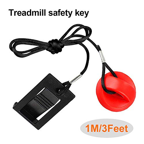 Goodtechnical Treadmill Universal Magnet Safety Key for All NordicTrack, Proform, Image, Weslo Cadence, Reebok, Epic, Gold's Gym, Freemotion, and HealthRider Treadmills (Treadmill Freemotion)