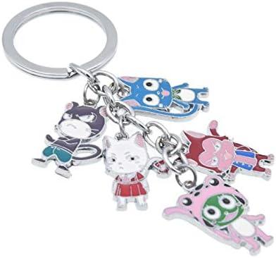 T1285 Anime Fairy Tail rubber Keychain Key Ring Schlüsselanhänger