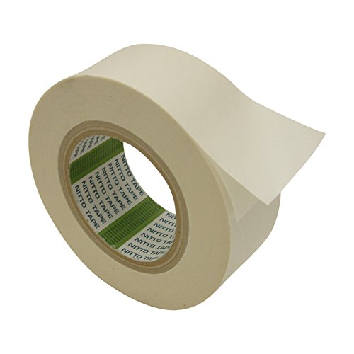 Two Sided Coated Paper - Nitto (Permacel) P-02 Double Coated Kraft Paper Tape: 2 in. x 36 yds. (White)