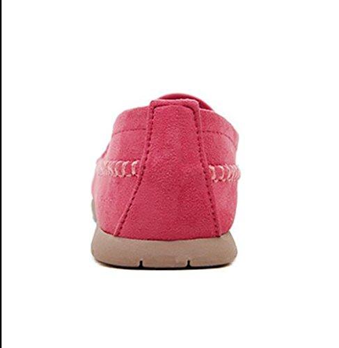 Scarpa 5 Donna Di Scarpe Stile Confortevole CN40 SHANGXIAN 5 Red Semplice Ultimo EU39 UK6 US8 Autunno Purple Moda Casual Piatte zwRxpnTCq
