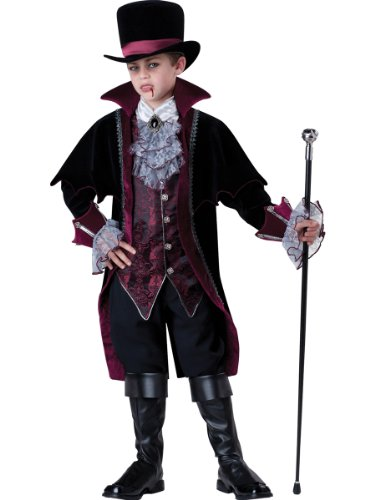 InCharacter Costumes Boy's Vampire Of Versailles, Black/Red, 14 by Fun World