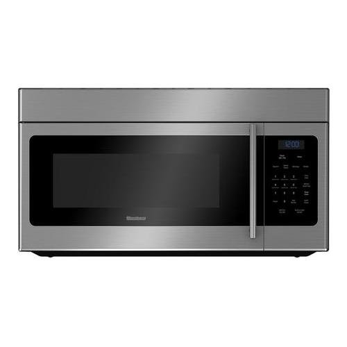 Blomberg BOTR30100SS 30'' Over the Range Microwave Oven with 1.6 cu. ft. Capacity Auto Defrost Option 300 CFM 10 Power Levels and 3 Fan Settings: Stainless