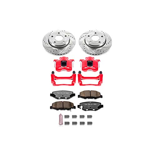 Power Stop KC3097-36 Front Z36 Truck and Tow Brake Kit with - Exhaust Brake Kit