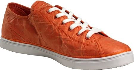 cef5bd253ad38 Unstitched Utilities Women's Next Day Low Fashion Sneaker, Orange, 7 ...
