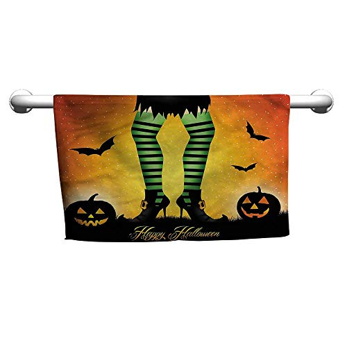 alisoso Halloween,Dish Towels Cartoon Witch W 35