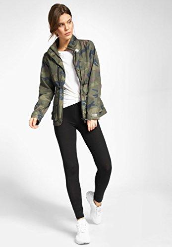 Khujo Damen Jacke Perla Camouflage Olive Camouflage zVmgVw