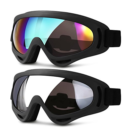 Bolle Goggles Mojo Shiny Black Frame, Lemon Lens