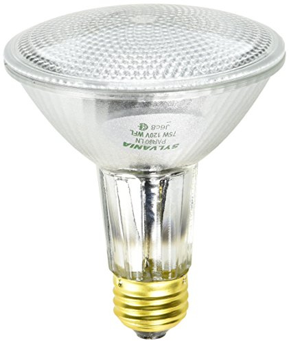 Sylvania 14768 75-Watt PAR30 Wide Flood Long Neck Halogen Light Bulb ()
