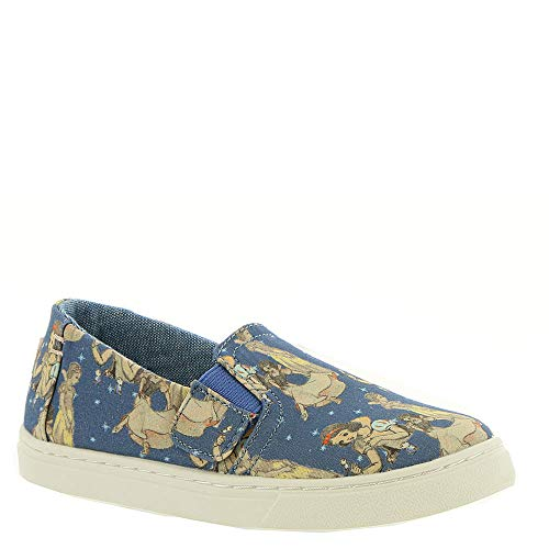TOMS Kids Baby Girl's Luca Disney¿ Princesses (Infant/Toddler/Little Kid) Blue Snow White Printed Canvas 8 M US Toddler M